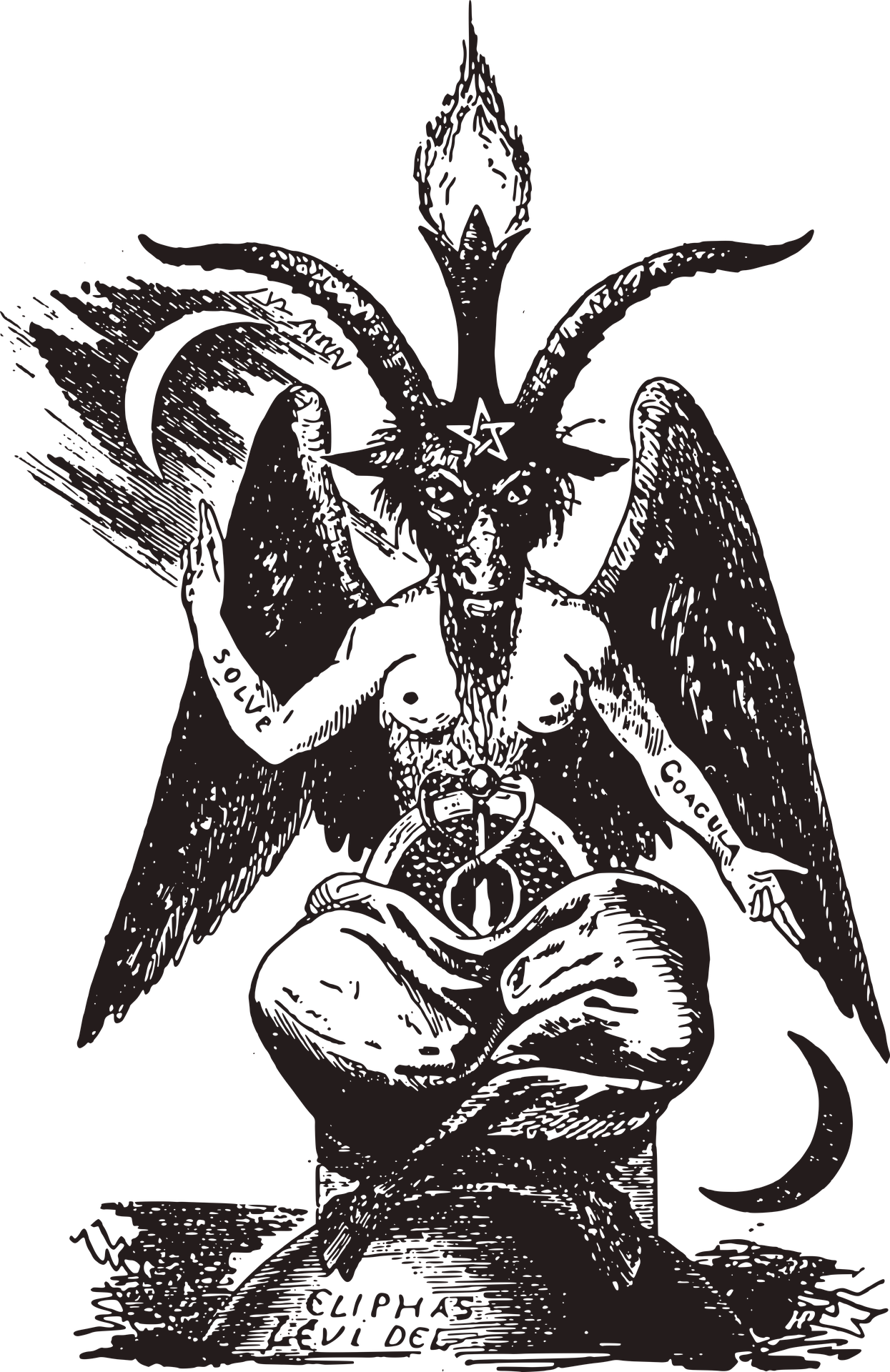 Satanic ritualistic crime a. Occult drawing clip art library download