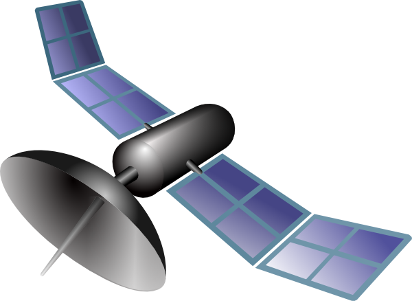Satellite clipart. Clip art at clker