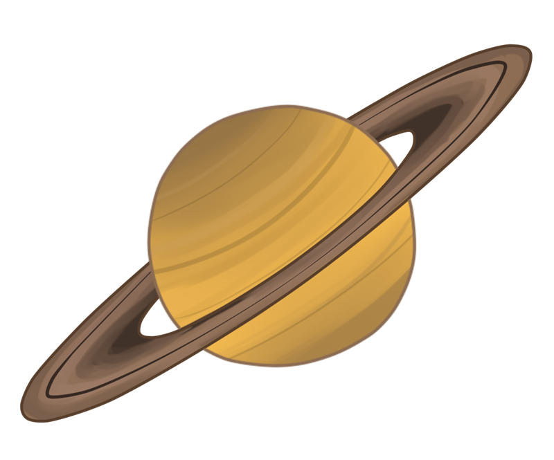 Saturn clipart png.