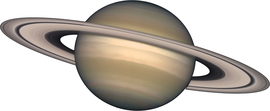Transparent saturn white background. Vector library huge