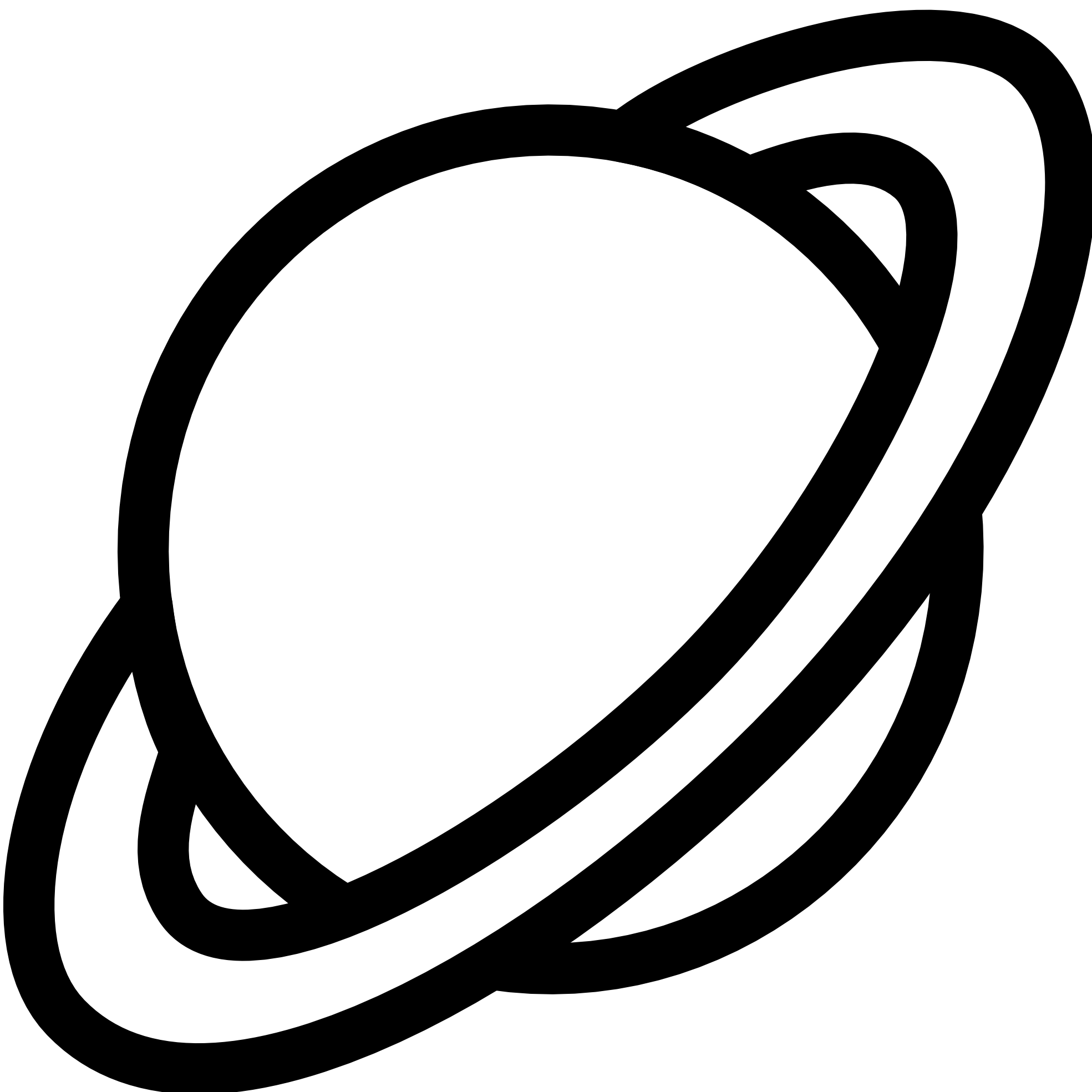 Saturn clipart planet outline. Icon black white panda