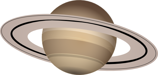 Transparent saturn clear. Clip art at clker