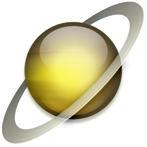 Saturn clipart png. Planet icon image iconbug