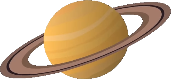 Saturn clipart png. Image the large stuff