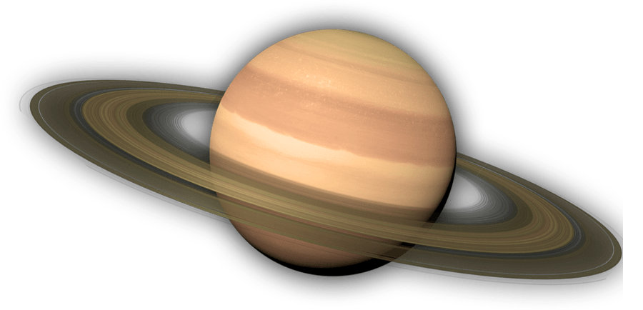 Saturn planet png. Transparent stickpng