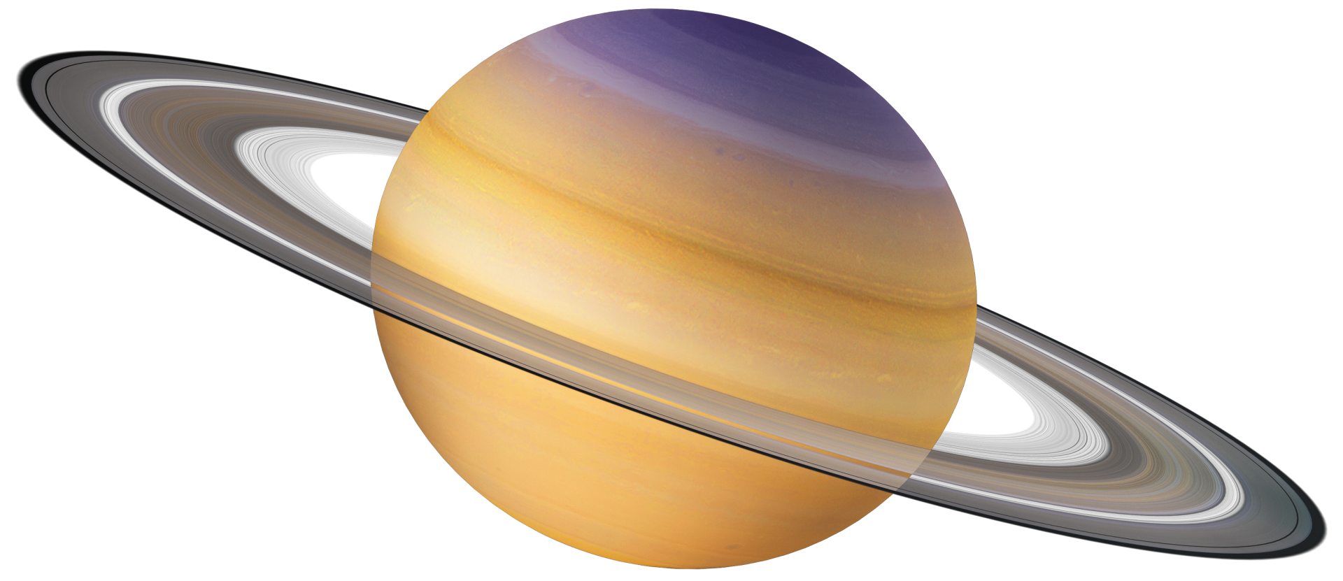 Transparent saturn planet. Facts for kids dk