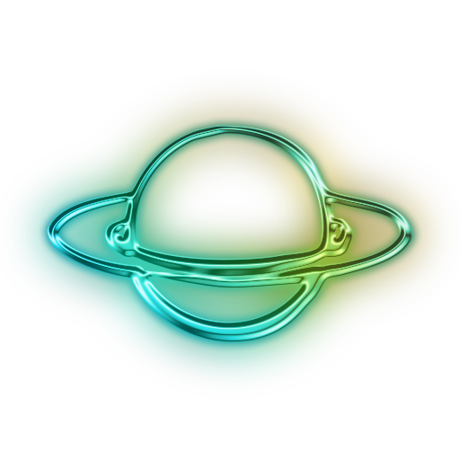 Saturn rings png. Of planet icon free