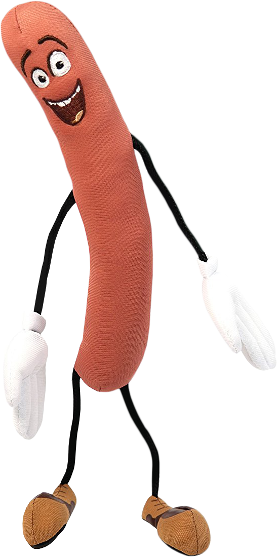Sausage party png. Frank plush by licence
