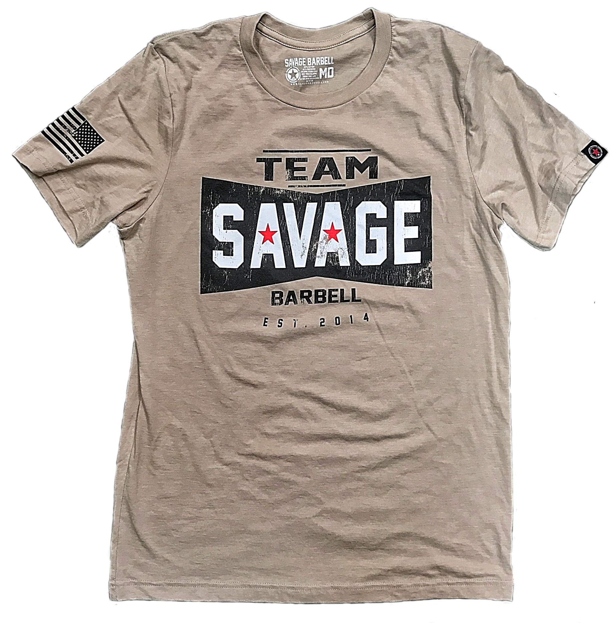 Savage transparent team. Mens t shirt barbell