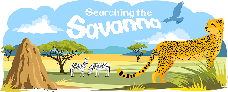 Savannah drawing savanna. Biome ask a biologist