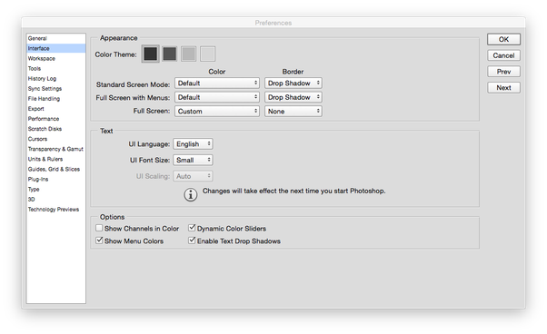 Save as png in photoshop cc. Are there any ui
