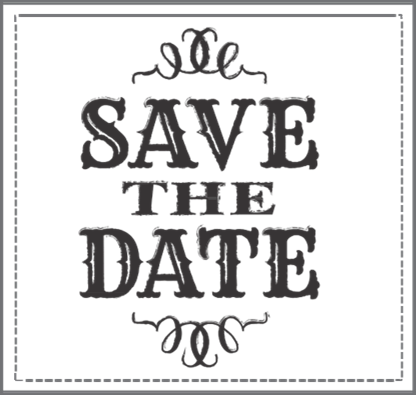 Save the date clipart. Christmas