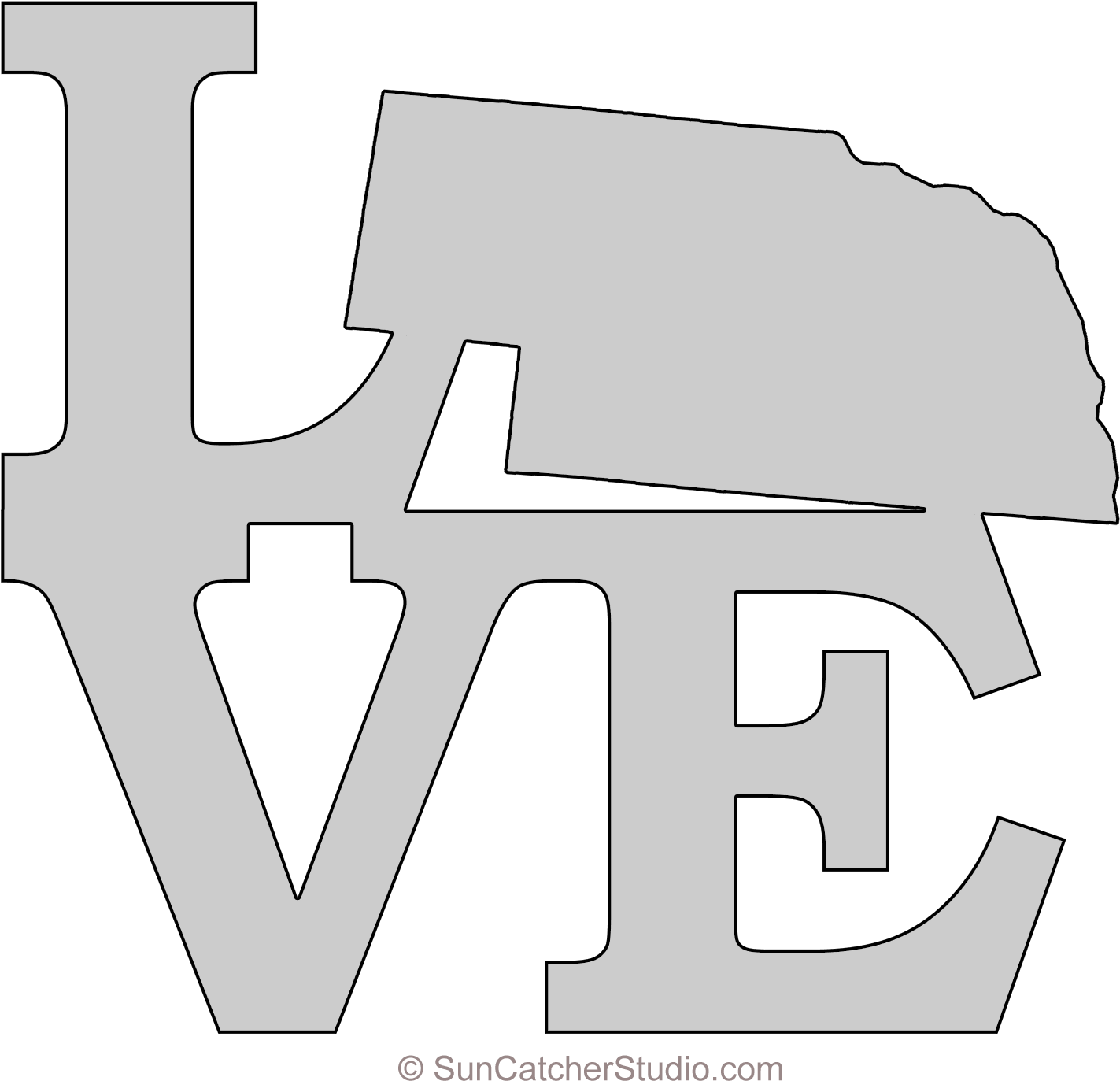 Saw img background png pattern. Download nebraska love map