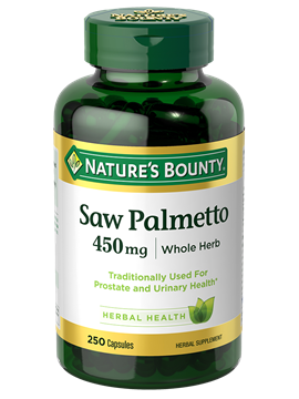 Saw palmetto png. Mg capsules nature s