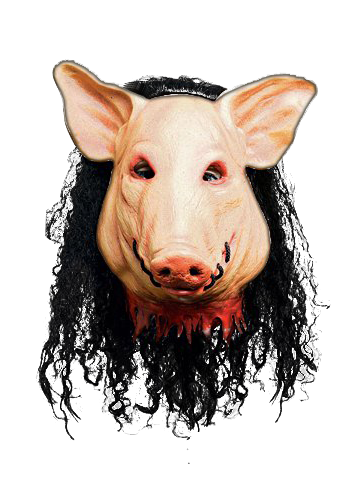Saw pig mask png. Original masks makeup your