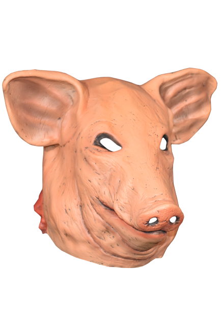 Saw pig mask png. Don post