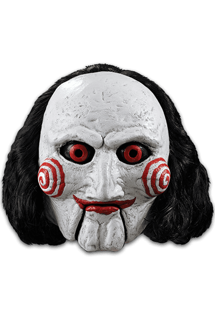 Saw pig mask png. Nightmare toys billy puppet