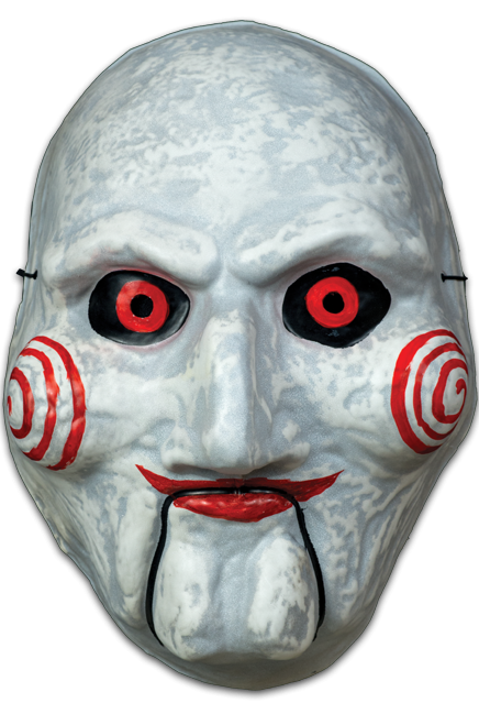 Saw pig mask png. Billy puppet vacuform