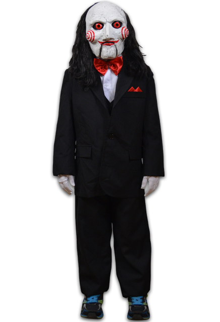 Saw pig mask png. Billy puppet children s