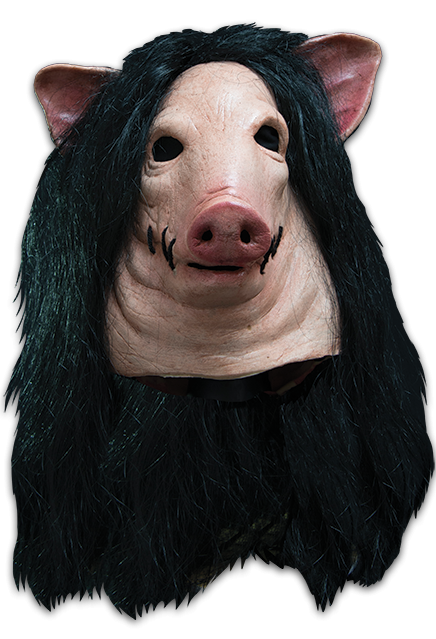 Saw pig mask png. Halloween illusions