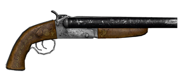 Sawed off uncharted wiki. Vector shotgun nun picture library stock