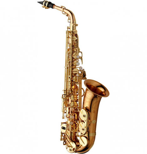 Saxaphone drawing blues instrument. The top saxophones a
