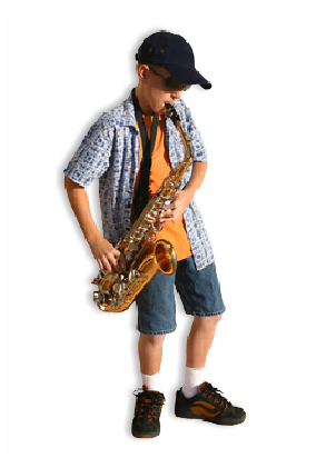 Saxaphone drawing kid. Pin by donna taylor