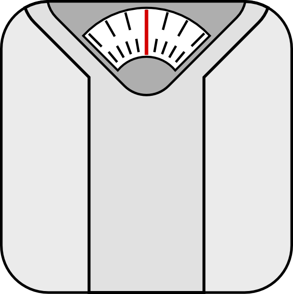 Scale clipart. Weight
