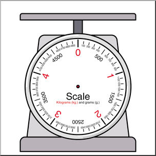 Scale clipart kilogram. Clip art weights and