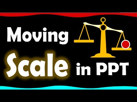Scale clipart powerpoint. Advanced animation tutorial animated
