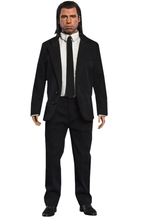 Scale figure png. Vincent vega sixth sideshow