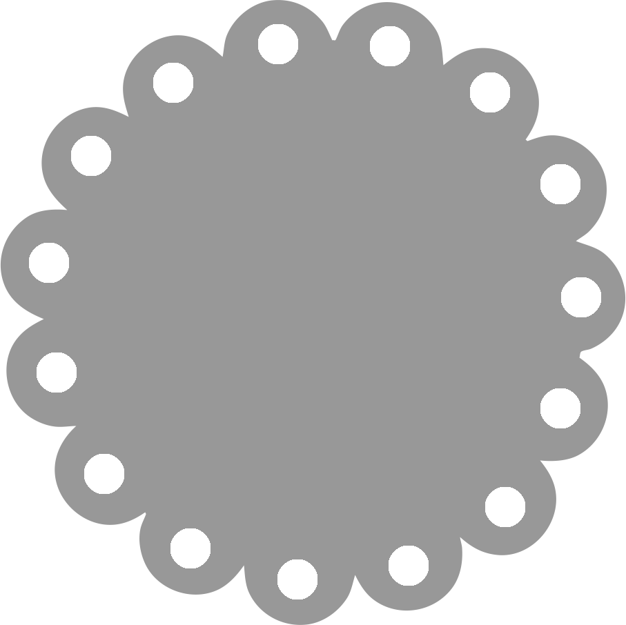 scallop circle png