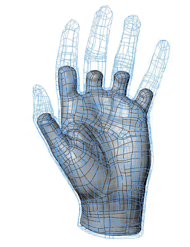 Scan drawing hand. Skyward ltd d modeling