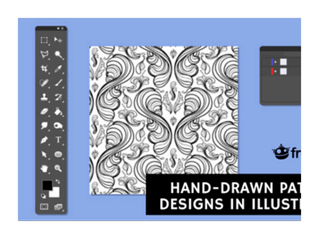 Scanned drawing design. Graphic make hand drawn