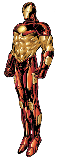 Scanned drawing iron man. The greatest armors of