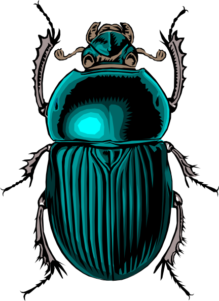 Scarab vector. Beetle tattoo love that