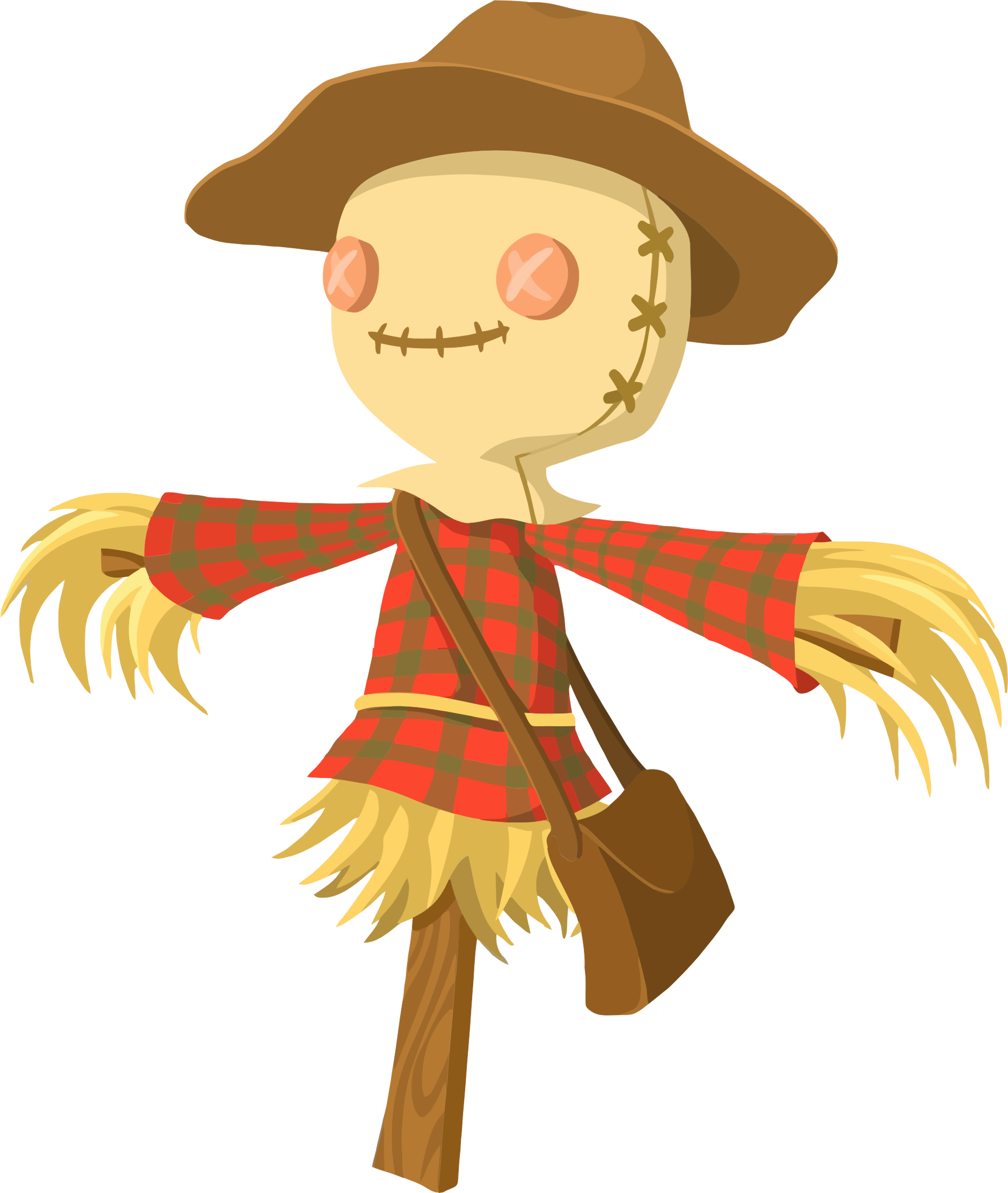 scarecrow transparent svg