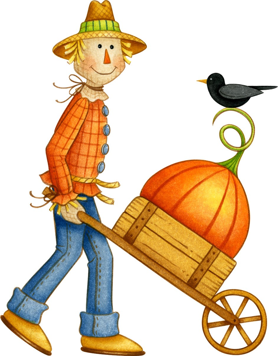Scarecrow clipart colored. Cute at getdrawings com