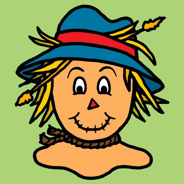 Eye pencil and in. Scarecrow clipart colored royalty free download