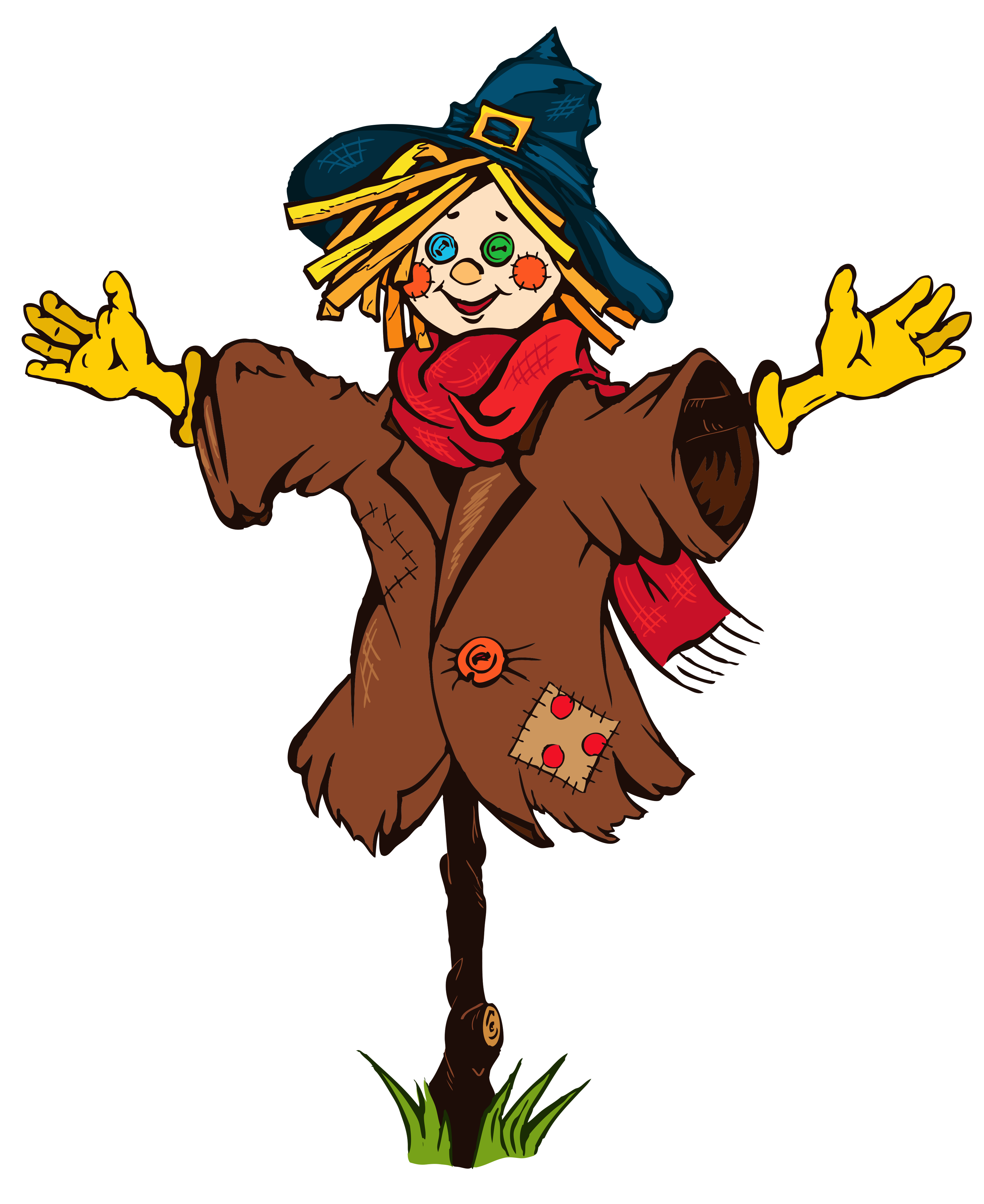 Transparent png picture gallery. Scarecrow clipart vector transparent stock