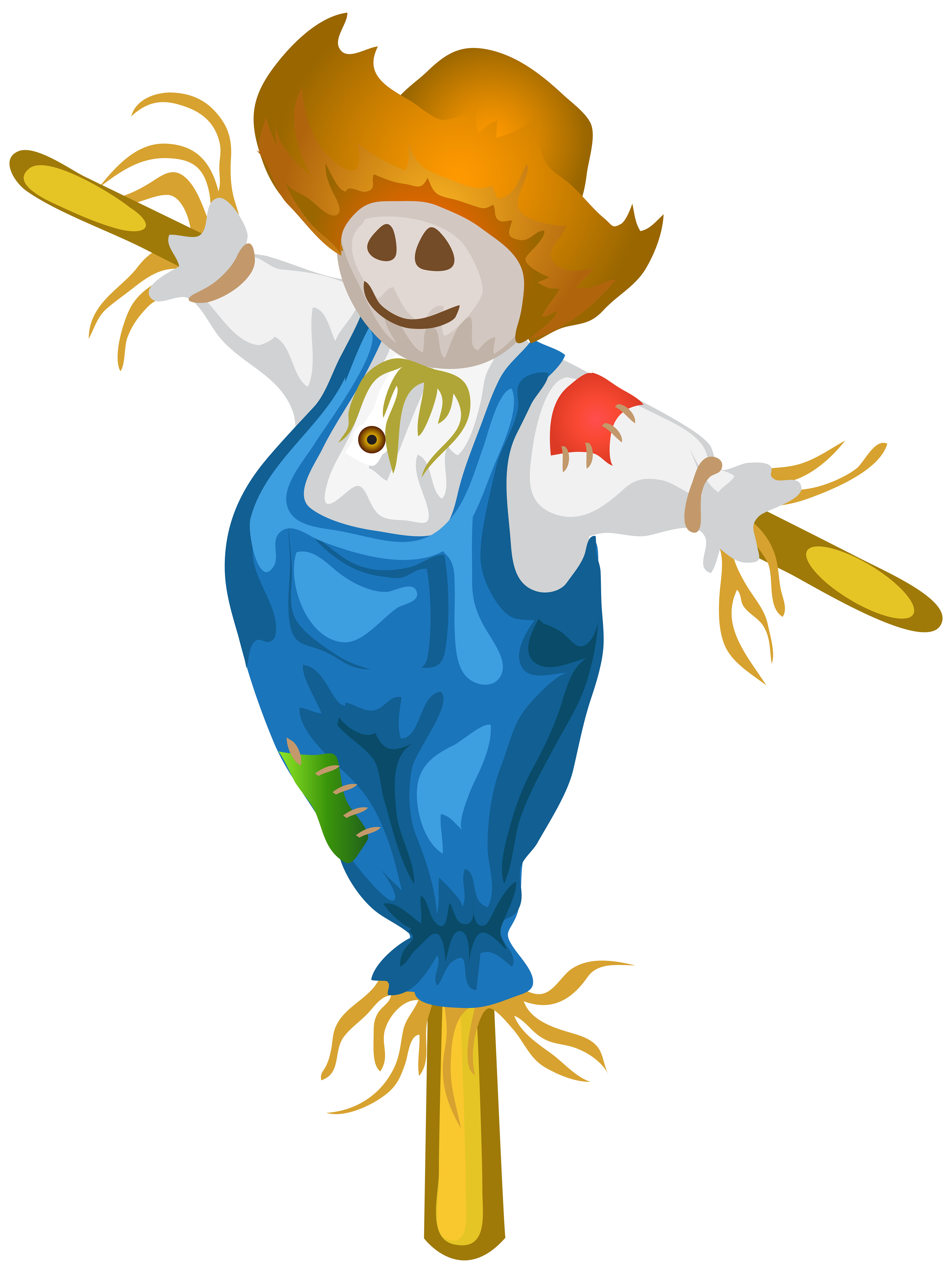 scarecrow transparent two