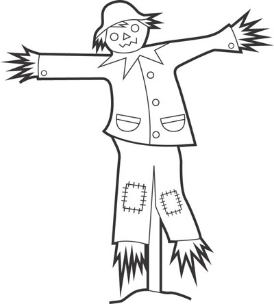 Scarecrow clipart tree. Free panda images info