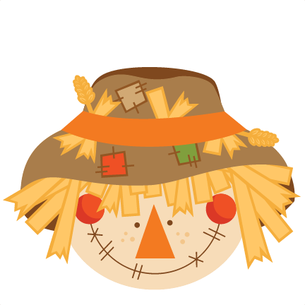 Scarecrow clipart tree. Free svg cut file