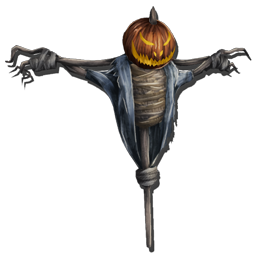 Scarecrow transparent colored. Official ark survival evolved