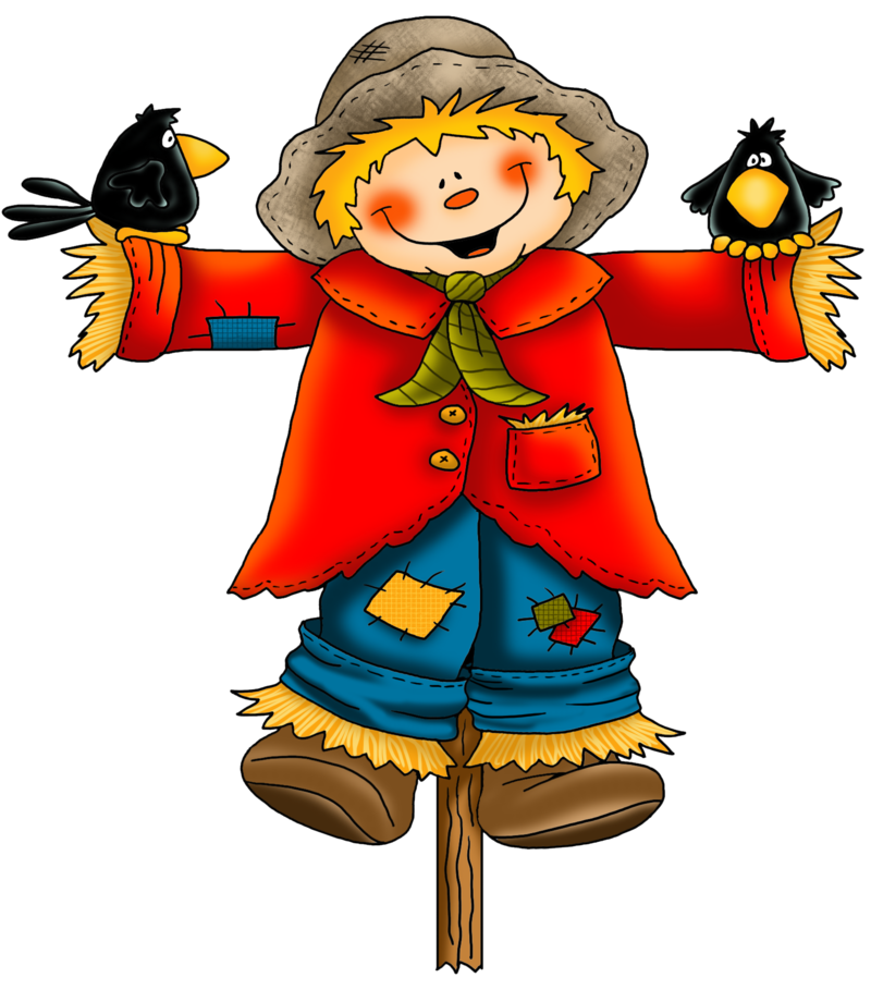 Scarecrow transparent colored. Download free png dlpng