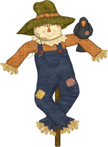 Scarecrow vector scary. Graphics encode clipart to