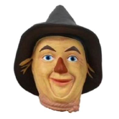 Scarecrow transparent wizard oz. Of character head shooter