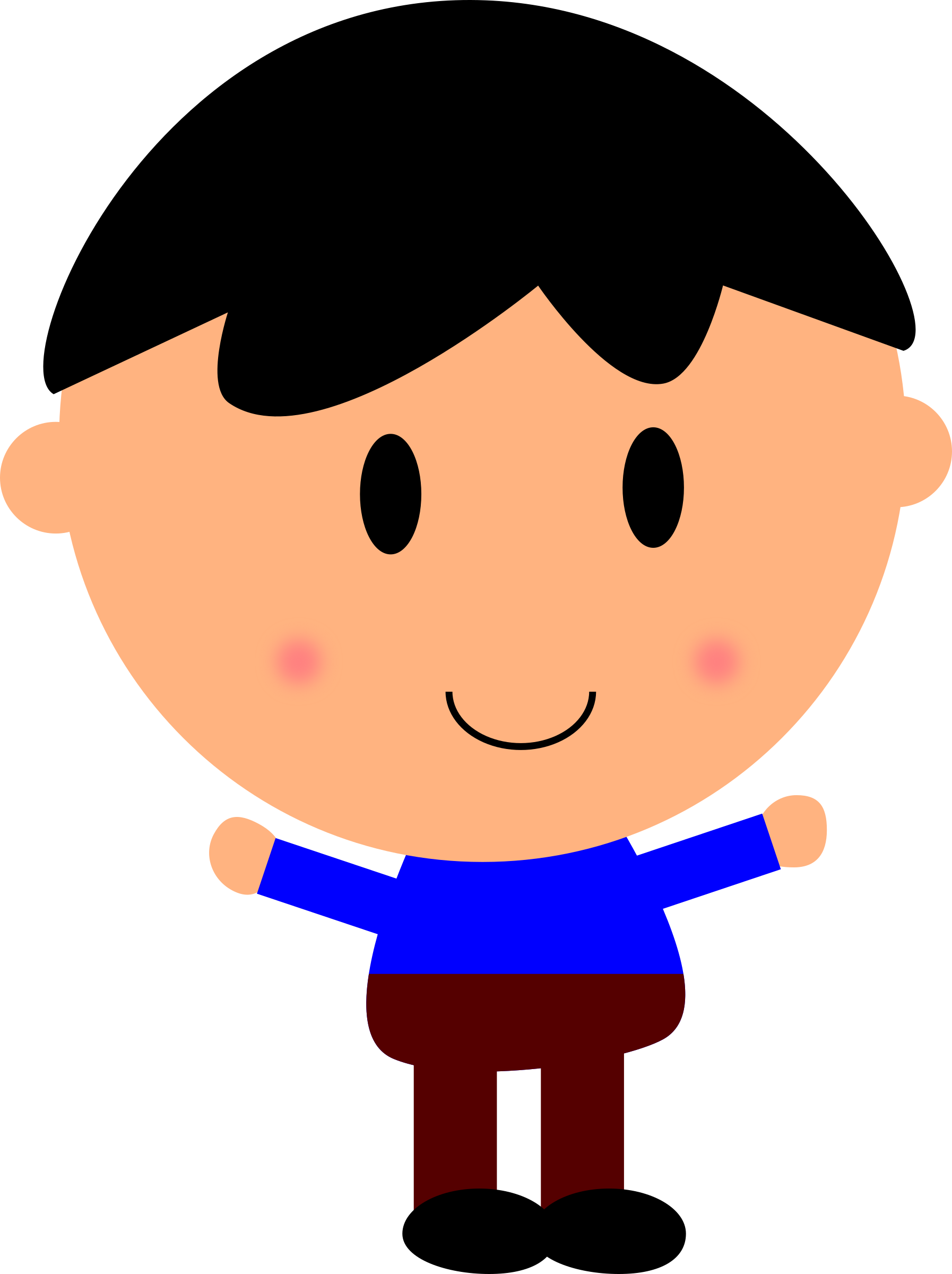 Scared boy png. Cartoon clipart hd top