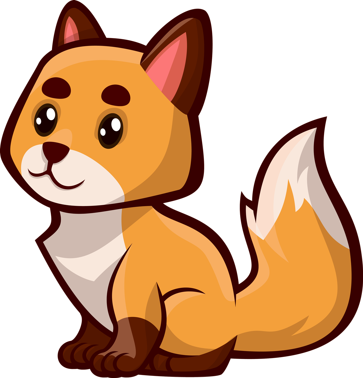 Scared clipart fox. Free pictures clipartandscrap to
