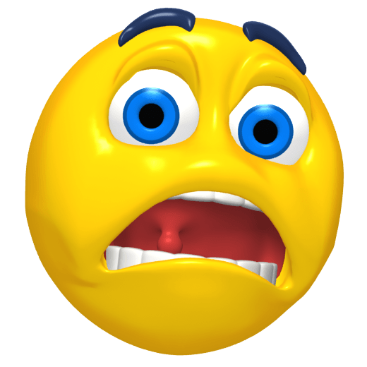 Scared emoji png. Emoticon transparent stickpng icons
